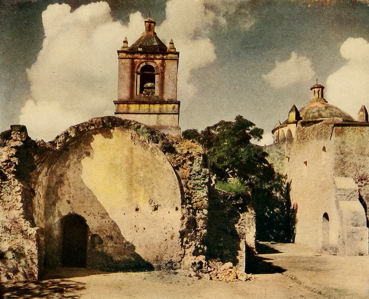 Texas, the Marvellous, the State of the Six Flags - The Mission Concepcion (1916)