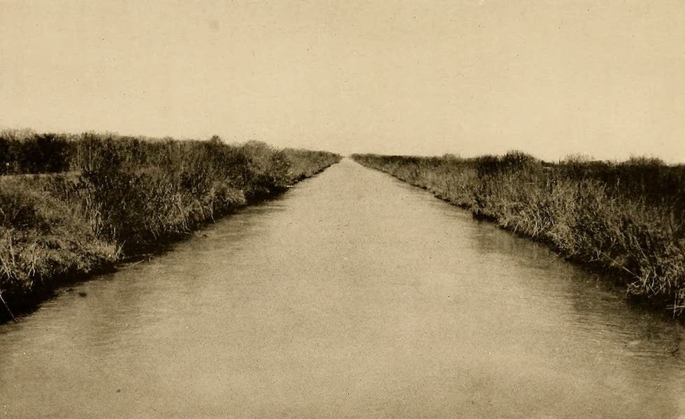 Texas, the Marvellous, the State of the Six Flags - An Irrigating Canal (1916)