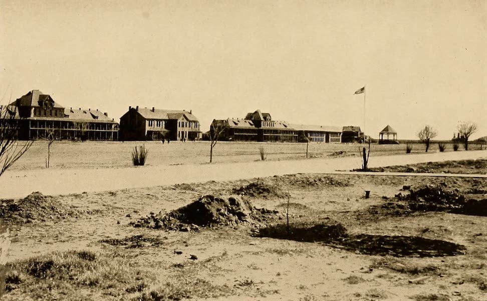 Texas, the Marvellous, the State of the Six Flags - Partial View of Fort Bliss, El Paso (1916)