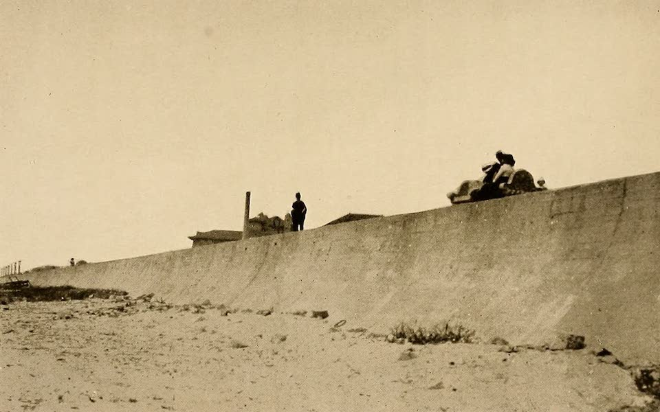 Texas, the Marvellous, the State of the Six Flags - A Glimpse of the Concrete Wall, Galveston (1916)