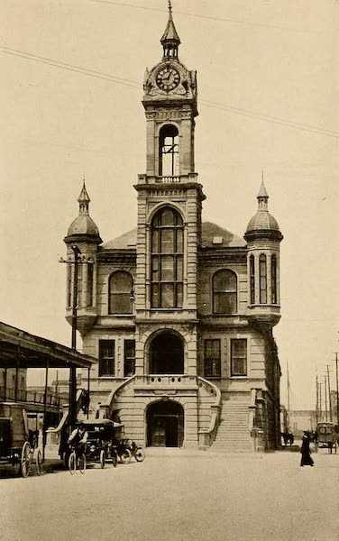 Texas, the Marvellous, the State of the Six Flags - Old City Hall, Galveston (1916)