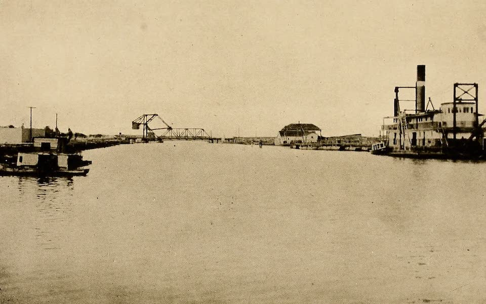 Texas, the Marvellous, the State of the Six Flags - Ship Canal, Port Arthur (1916)