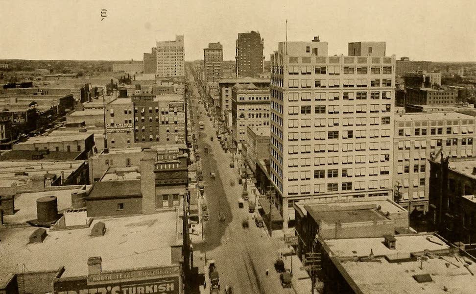 Texas, the Marvellous, the State of the Six Flags - Main Street, Dallas (1916)