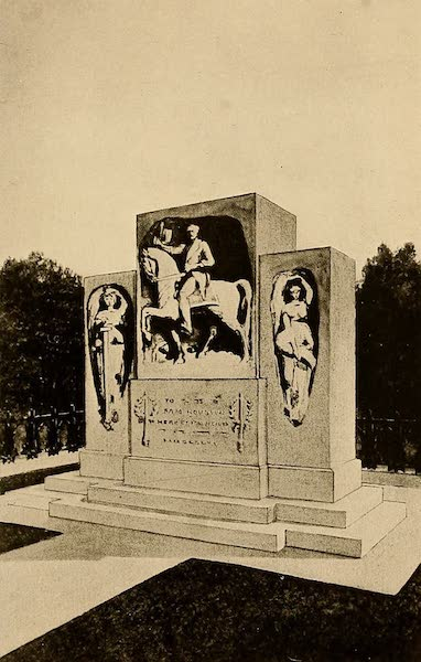Texas, the Marvellous, the State of the Six Flags - Monument over Sam Houston's Grave, Huntsville (1916)