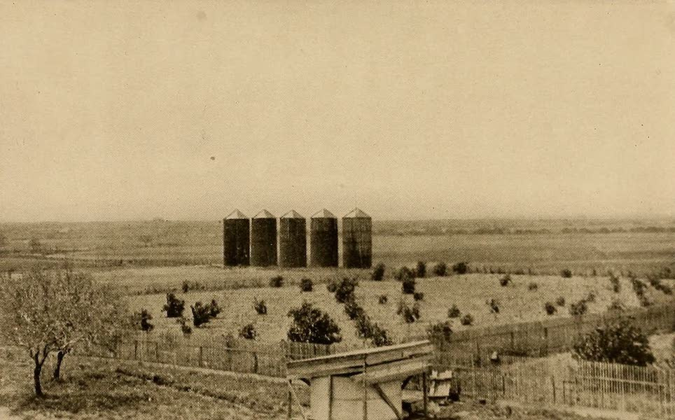 Texas, the Marvellous, the State of the Six Flags - Silos on the King Million-acre Ranch (1916)