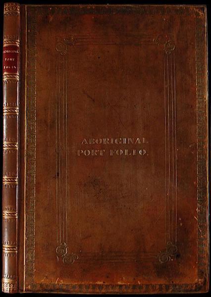 The Aboriginal Port Folio - Front Cover (1836)