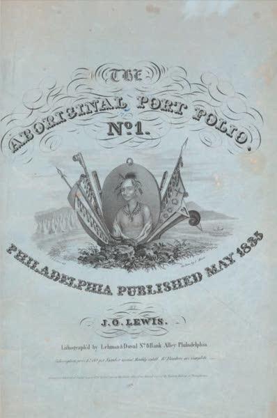 The Aboriginal Port Folio - Original Blue Wrapper (1836)