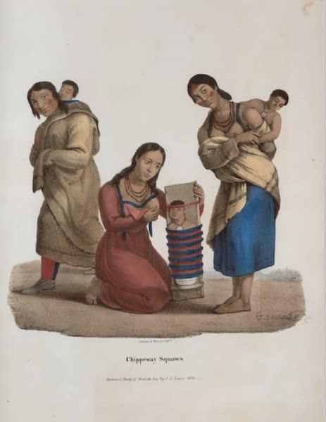 The Aboriginal Port Folio - Chippeway squaws (1836)