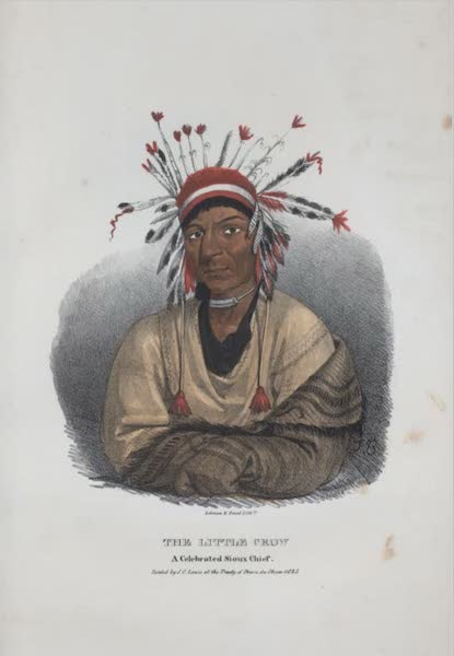 The Aboriginal Port Folio - The Little Crow, a celebrated Sioux Chief (1836)