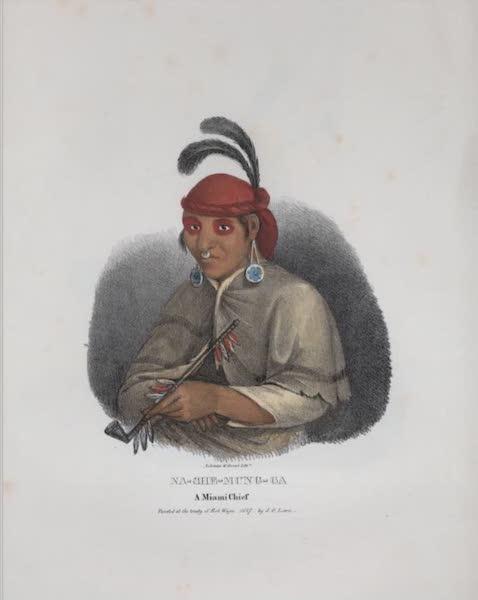 The Aboriginal Port Folio - Na-che-mung-ga, a Miami Chief (1836)