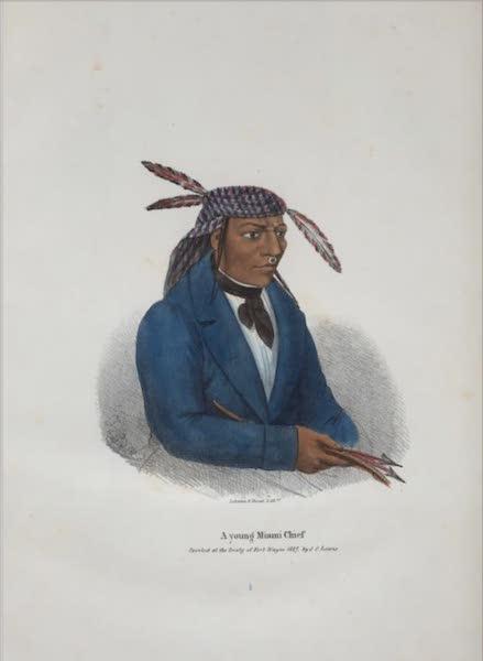 The Aboriginal Port Folio - A Young Miami Chief (1836)