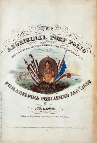 New York Public Library - The Aboriginal Port Folio