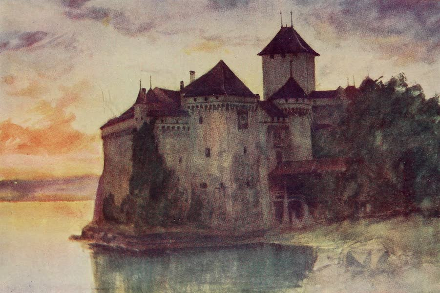 The Alps, Painted and Described - The Castle of Chillon (1904)