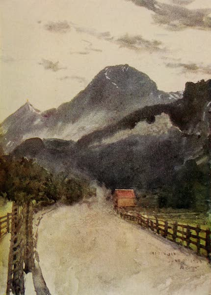The Alps, Painted and Described - At Meiringen (1904)