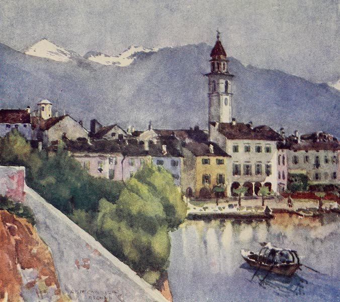 The Alps, Painted and Described - Asconia - on Lago Maggiore (1904)