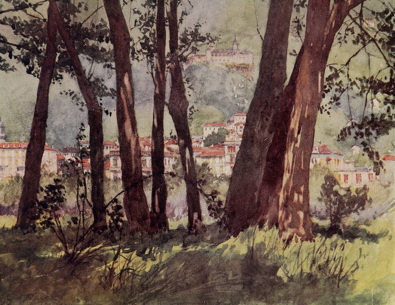 The Alps, Painted and Described - Locarno from the Banks of the Lake (1904)