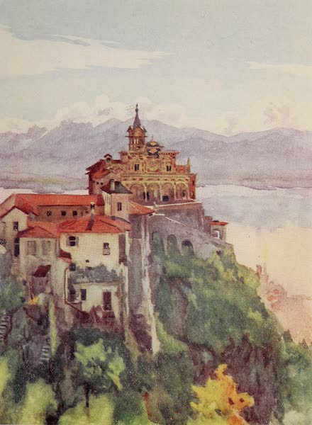 The Alps, Painted and Described - The Madonna del Sasso, Locarno (1904)
