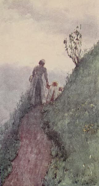 The Alps, Painted and Described - A Mountain Path, Grindelwald (1904)
