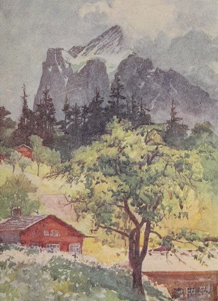 The Alps, Painted and Described - The Wetterhorn (1904)