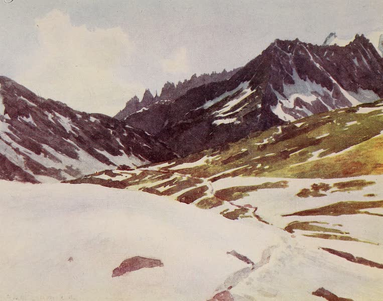 The Alps, Painted and Described - Marjelen Alp (1904)
