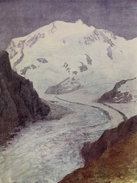 The Alps, Painted and Described - Boden and Gorner (1904)