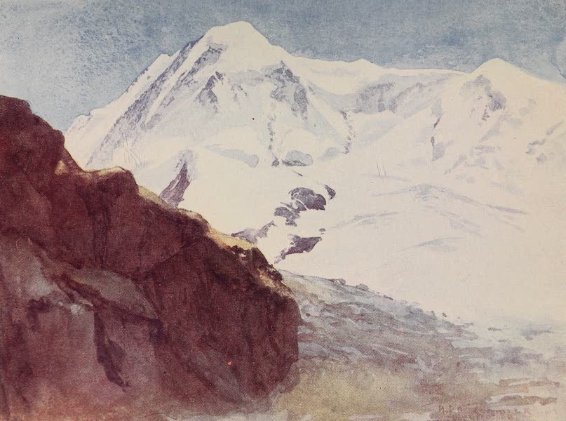 The Alps, Painted and Described - The Lyskamm (1904)