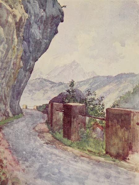 The Alps, Painted and Described - The Road from Vitznau to Gersau (1904)