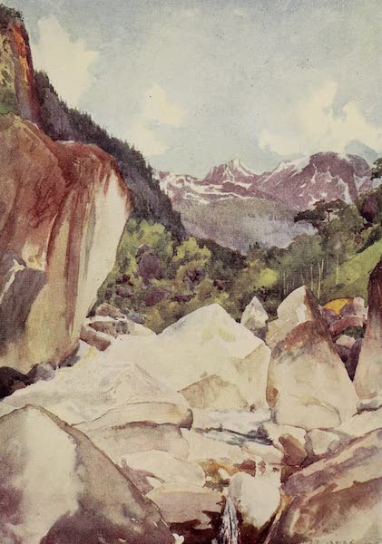 The Alps, Painted and Described - In the Val Bavona (1904)