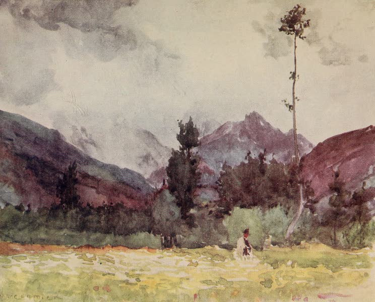 The Alps, Painted and Described - In the Val d'Aosta (1904)