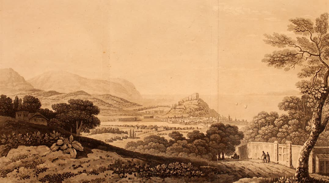 The Ancient and Modern History of Nice - View of Nice (1807)