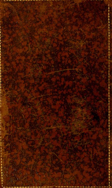 The Ancient and Modern History of Nice - Back Cover (1807)