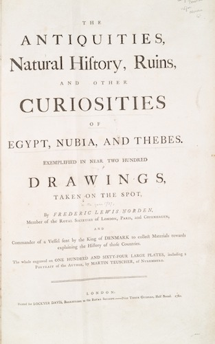 New York Public Library - The Antiquities, Natural History, Ruins, and Other Curiosities of Egypt