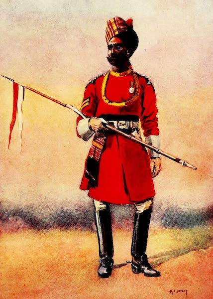 The Armies of India, Painted and Described - Governor's Bodyguard, Madras (1911)