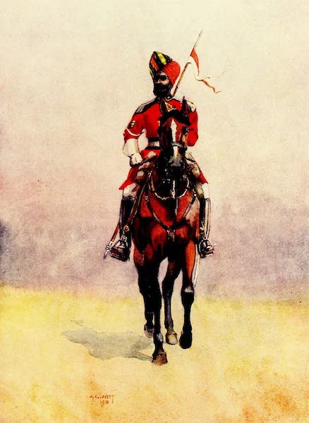 The Armies of India, Painted and Described - Governor's Bodyguard, Bombay (1911)