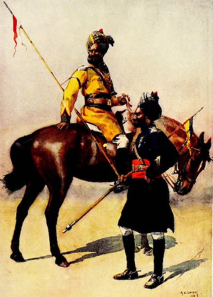 The Armies of India, Painted and Described - 1st Duke of York's Own Lancers and 3rd Skinner's Horse (1911)