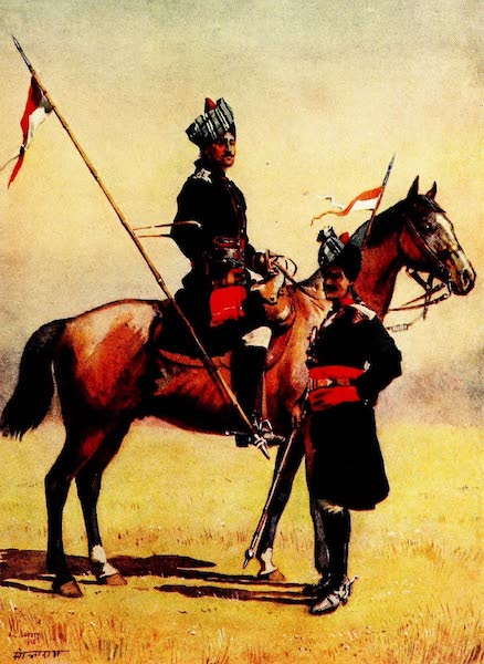 The Armies of India, Painted and Described - 6th King Edward's Own Cavalry and 8th Cavalry (1911)