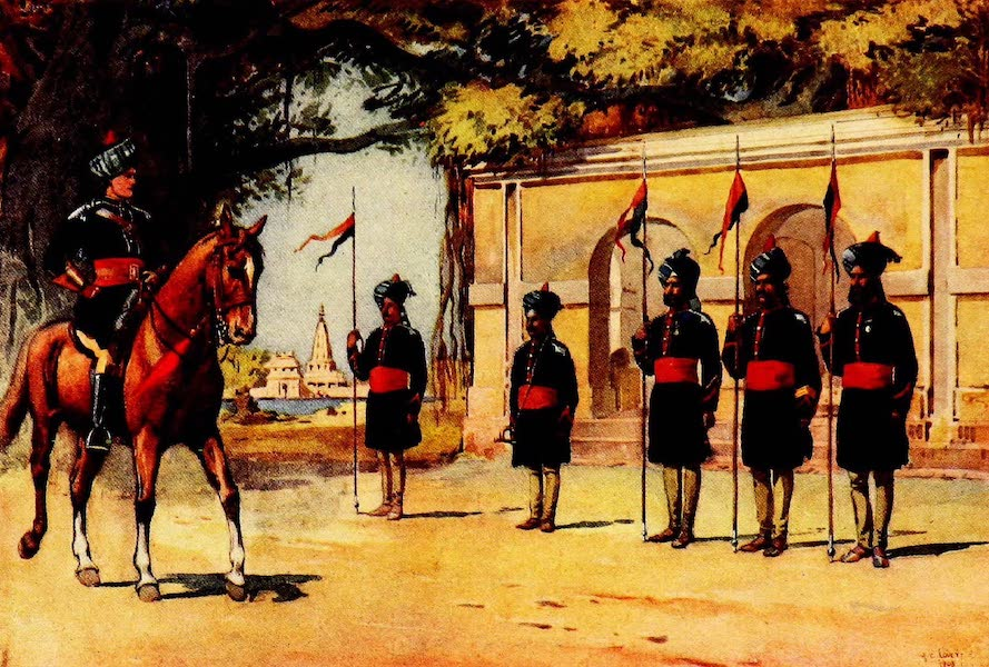 The Armies of India, Painted and Described - 10th Duke of Cambridge's Own Lancers (1911)