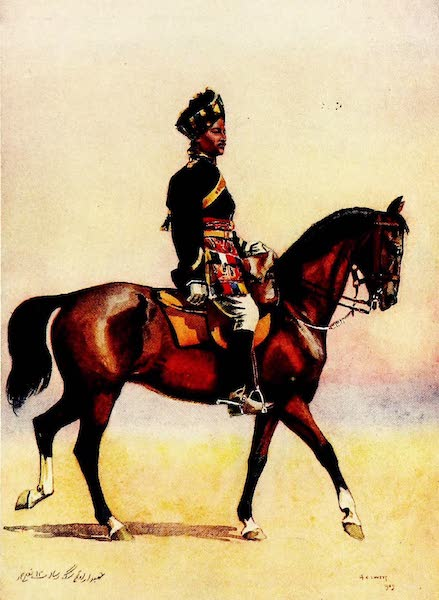 The Armies of India, Painted and Described - 12th Cavalry (1911)