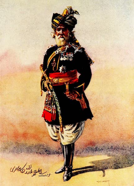 The Armies of India, Painted and Described - 15th Lancers (1911)