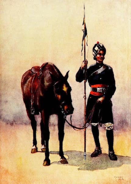 The Armies of India, Painted and Described - 19th Lancers (1911)