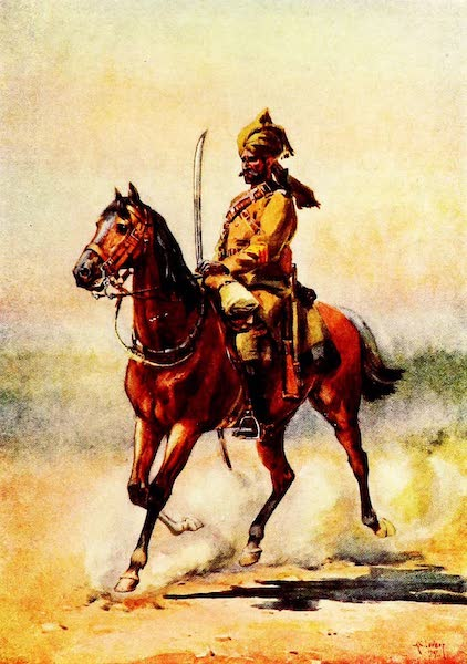 The Armies of India, Painted and Described - 25th Cavalry (1911)