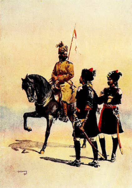 The Armies of India, Painted and Described - 34th Prince Albert Victor's Own Poona Horse (1911)
