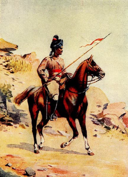 The Armies of India, Painted and Described - 37th Lancers, 35th Scinde Horse, and 36th Jacob's Horse (1911)