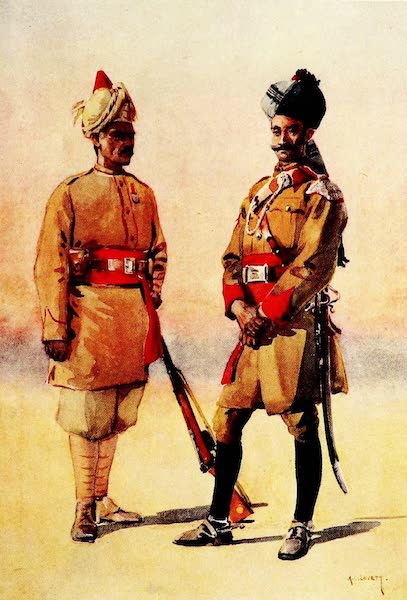 The Armies of India, Painted and Described - 38th King George's Own Central India Horse (1911)