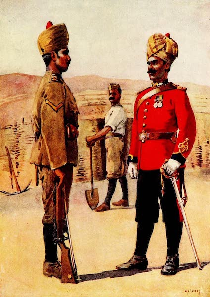 The Armies of India, Painted and Described - 3rd Sappers and Miners (1911)