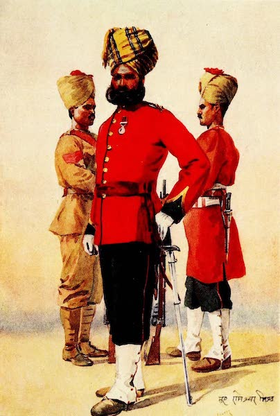 The Armies of India, Painted and Described - 1st and 3rd Brahmans (1911)