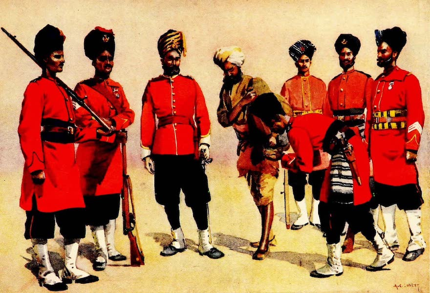 The Armies of India, Painted and Described - Rajput Regiments (1911)