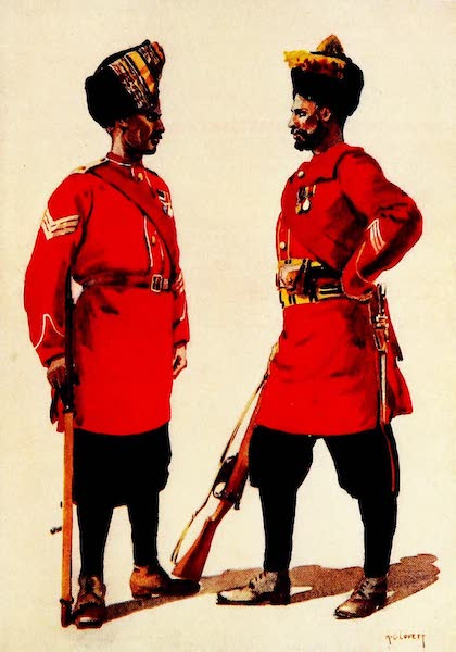 The Armies of India, Painted and Described - 5th Light Infantry and 6th Jat Light Infantry (1911)