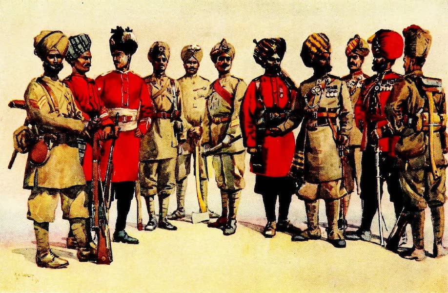 The Armies of India, Painted and Described - Pioneer Regiments (1911)