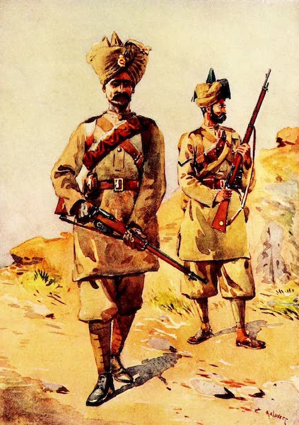 The Armies of India, Painted and Described - 20th Duke of Cambridge's Own Infantry and 30th Punjabis (1911)